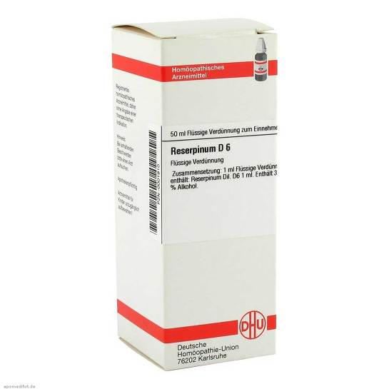 Reserpinum D 6 Dilution - 1