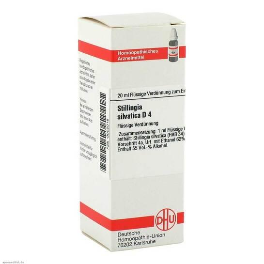 Stillingia silvatica D 4 Dilution - 1