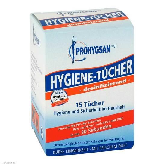 Prohygsan Hygiene Tücher AF desinfizierend - 1
