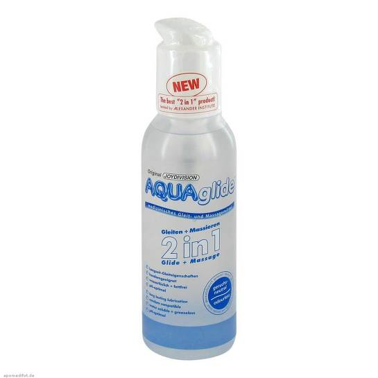 Aquaglide 2in1 Gleit- und Massagemittel - 1
