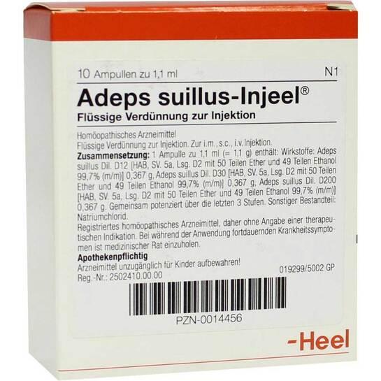Adeps Suillus Injeel Ampullen - 1