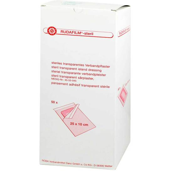 Rudafilm Verbandpflaster transparent 2 - 1