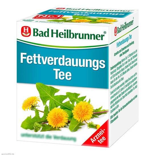 Bad Heilbrunner Tee Fettverdauung Filterbeutel - 1