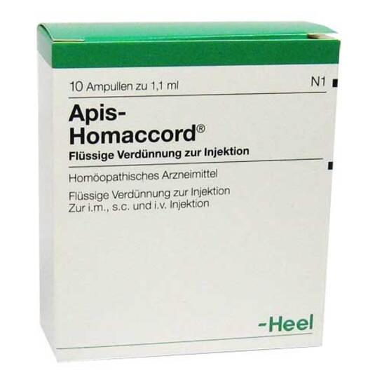 Apis Homaccord Ampullen - 1