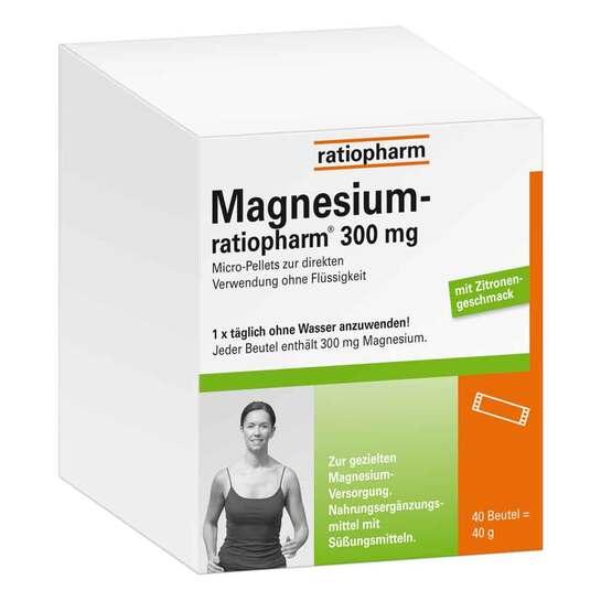 Magnesium Ratiopharm 300 mg Micro Pell.mit Granulat - 1