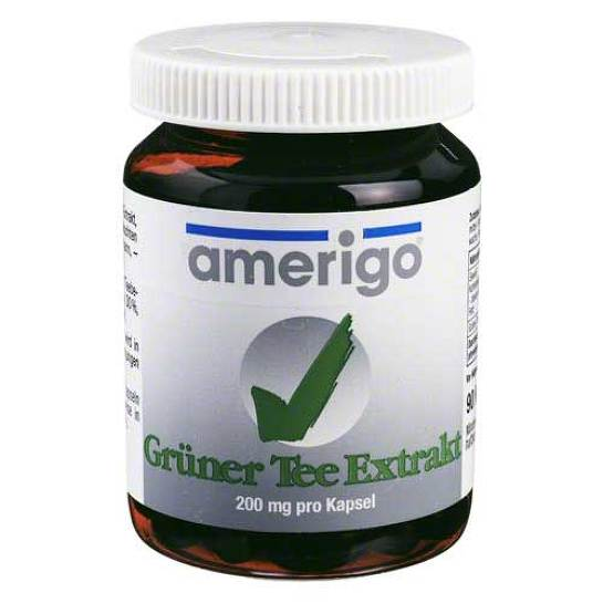 Grüner Tee Extrakt amerigo 200 mg Kapseln - 1