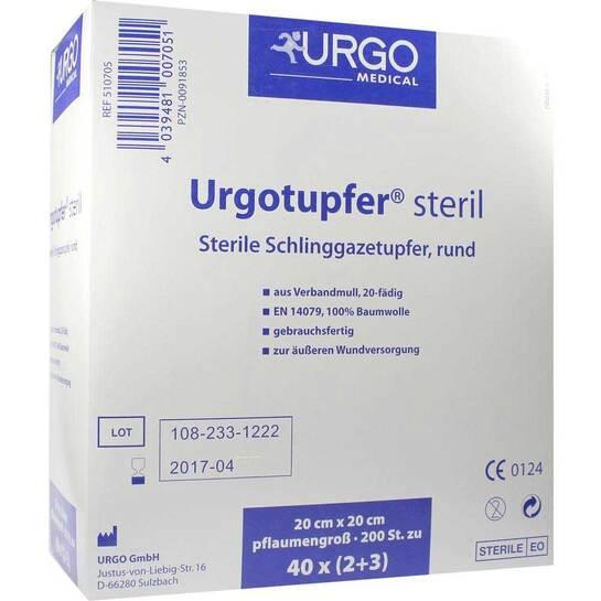 Urgotupfer pflaumengroß steril 2 + 3 - 1