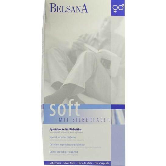 Belsana Soft Diabetiker Socke 4 beige - 1