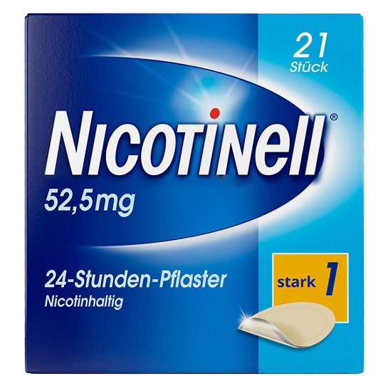Nicotinell 52,5 mg 24-Stunden-Pflaster transdermal - 1