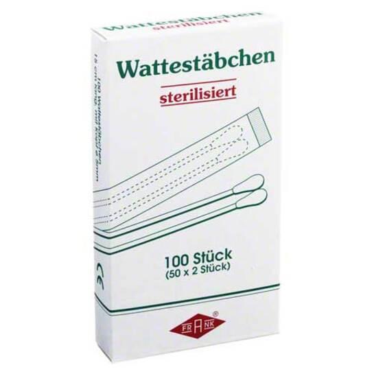 Wattestäbchen Holz steril - 1