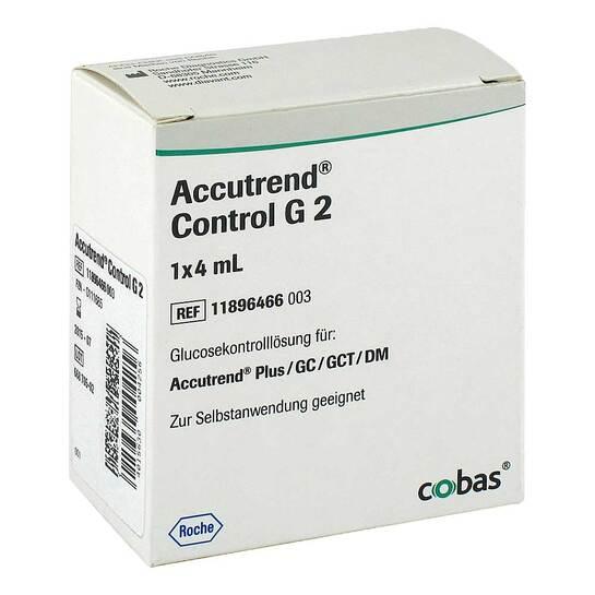 Accutrend Control Glucose Lösung - 1