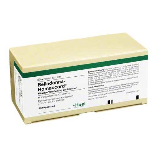 Belladonna Homaccord Ampullen - 1
