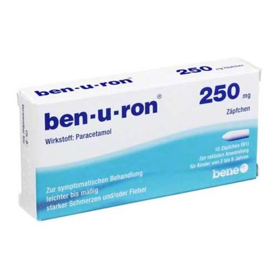 Ben-U-Ron 250 mg Suppositorien - 1