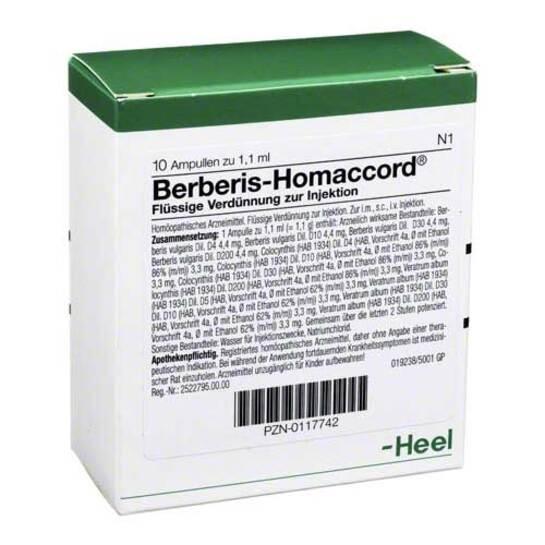 Berberis Homaccord Ampullen - 1