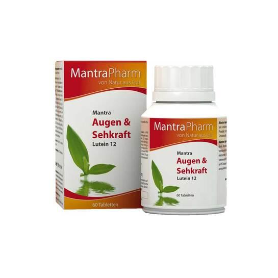 Mantra Augen und Sehkraft Tabletten - 1
