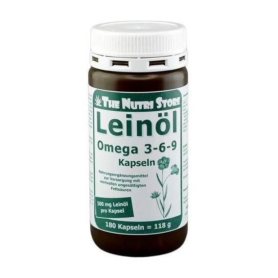 Omega 3 6 9 500 mg Bio Kapseln - 1