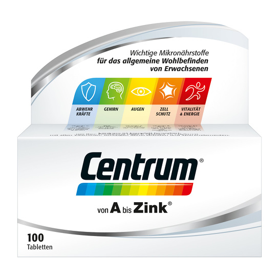 Centrum A-Zink Tabletten - 1