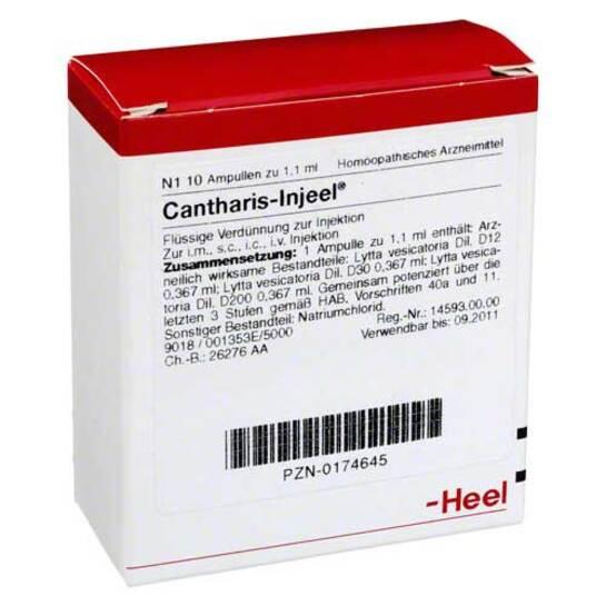 Cantharis Injeel Ampullen - 1