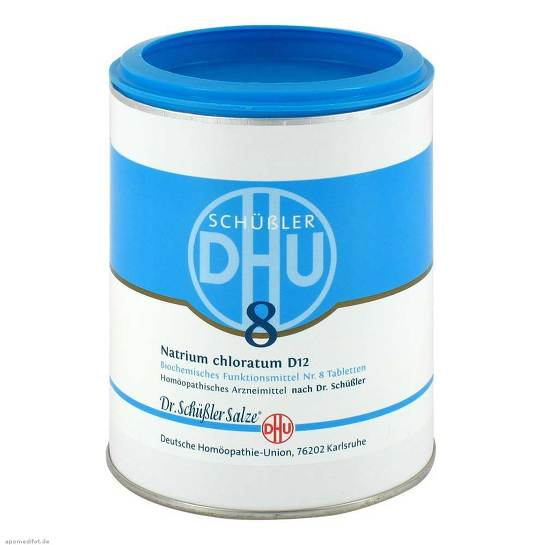 Biochemie DHU 8 Natrium chloratum D 12 Tabletten - 1