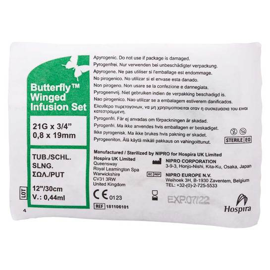 Butterfly Infusionszubehör 21 G - 2
