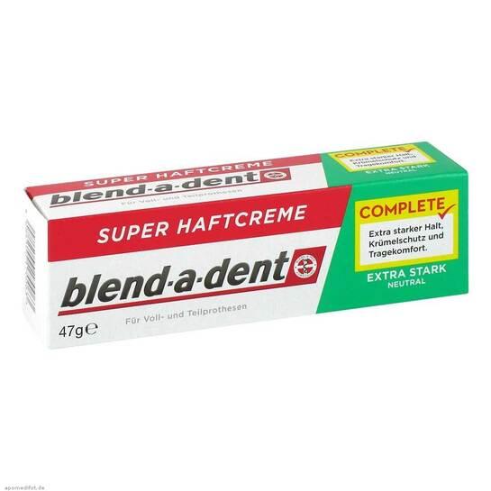 Blend A Dent Haftcreme Nebenwirkungen