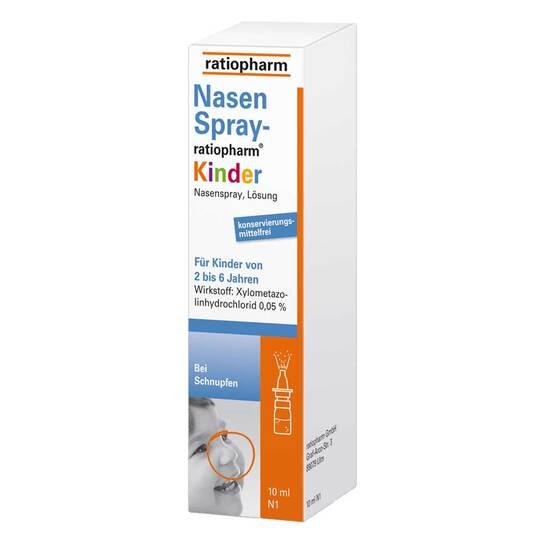 Nasenspray ratiopharm Kinder - 1