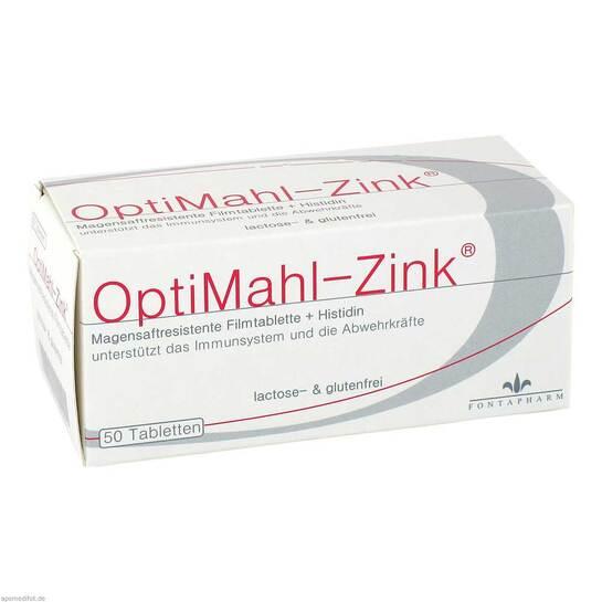 Optimahl Zink 15 mg Tabletten - 1