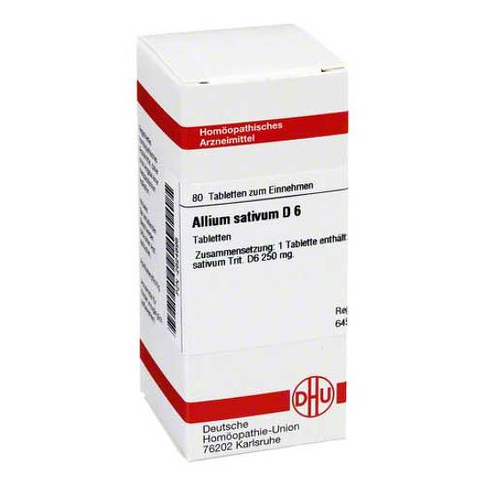 Allium sativum D 6 Tabletten - 1