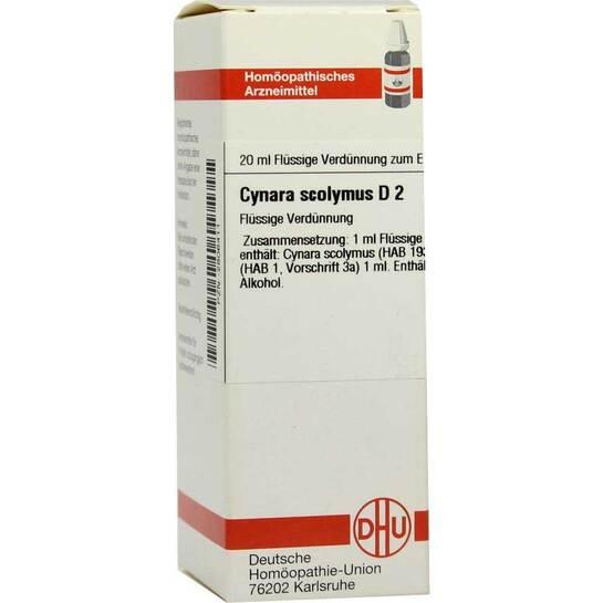 Cynara scolymus D 2 Dilution - 1