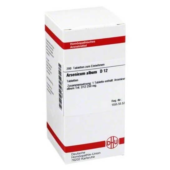 Arsenicum album D 12 Tabletten - 1