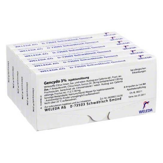 Gencydo 3% Injektionslösung - 1