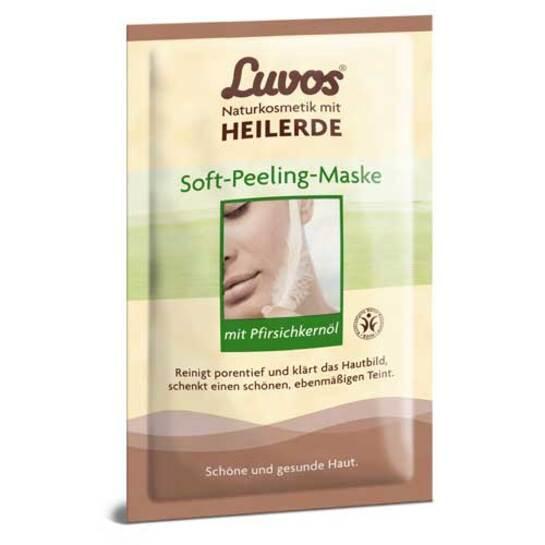 Luvos Crememaske Soft Peeling gebrauchsfert. - 1