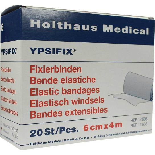 Fixierbinde Ypsifix elastisch 6 cm x 4 m lose - 1