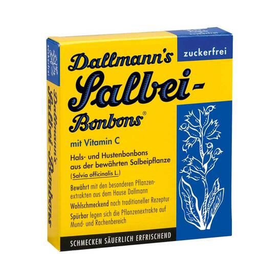 Dallmanns Salbeibonbons zuckerfrei - 1