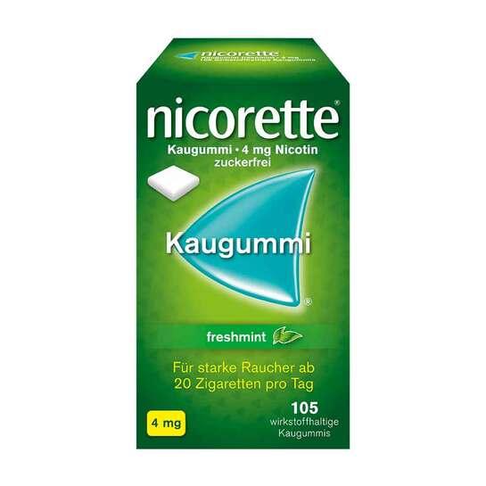 Nicorette Kaugummi 4 mg freshmint - 1