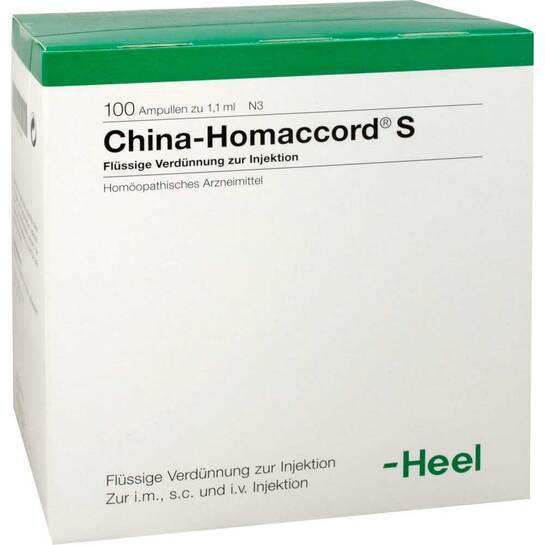 China Homaccord S Ampullen - 1