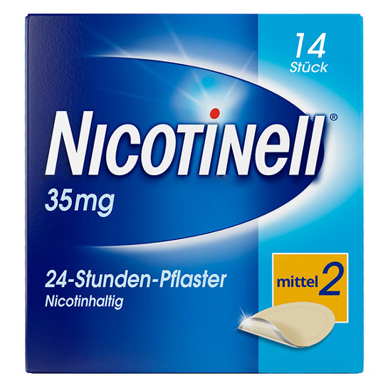Nicotinell 35 mg 24-Stunden-Pflaster transdermal - 1