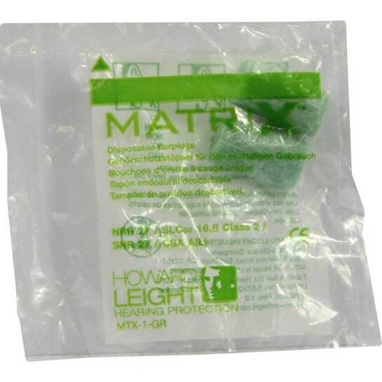 Howard Leight Matrix green Gehörschutzstöpsel - 1