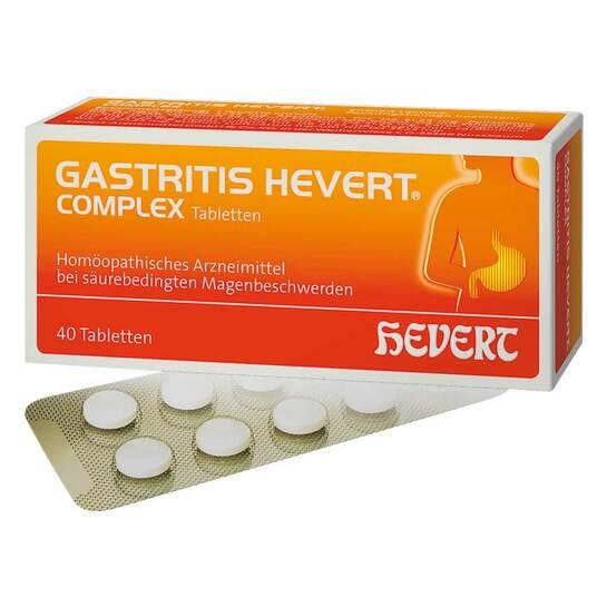 Gastritis Hevert Complex Tabletten - 1