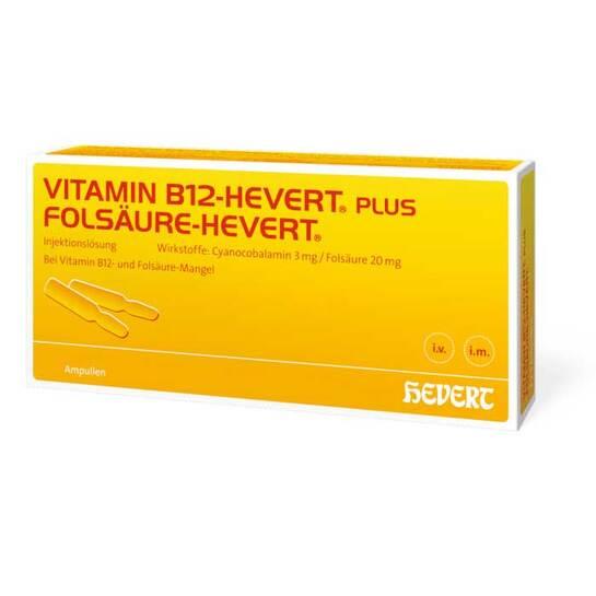 Vitamin B12 Folsäure Hevert Ampulle -Paare - 1