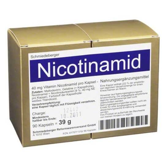 Nicotinamid Erfahrungen