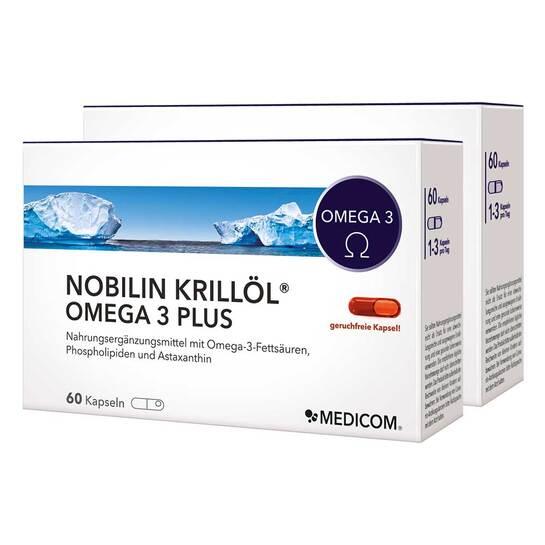 Nobilin Krillöl Omega 3 Plus Kapseln - 1