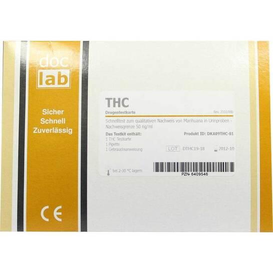 Drogentest Thc Marihuana Testkarten - 1