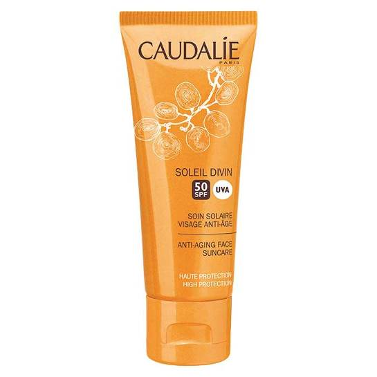 Caudalie Soleil Visage Anti-Age Gesicht Sonnenpflege LSF 50 - 1