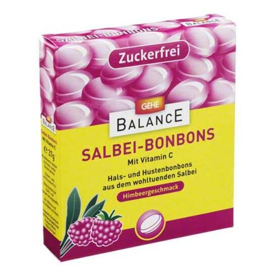 Gehe Balance Salbeibonbons zuckerfrei Himbeer G. - 1