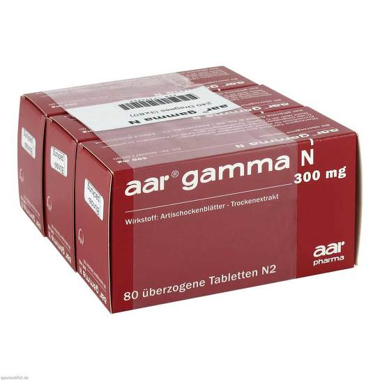 AAR Gamma N 300 mg Dragees - 1