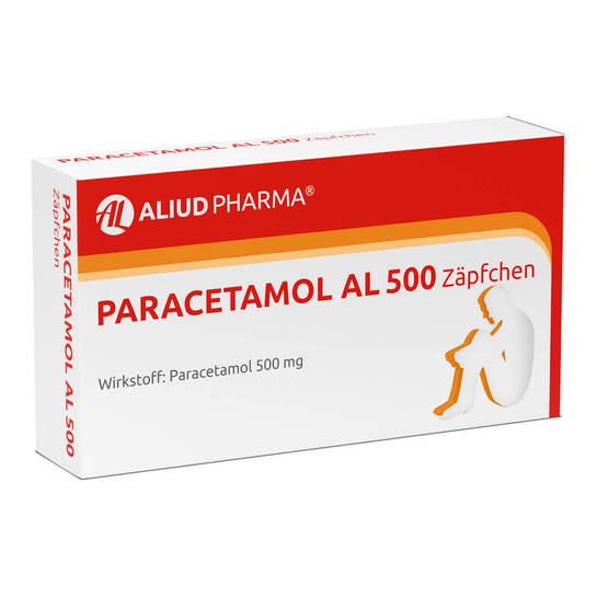 Paracetamol AL 500 Suppositorien - 1