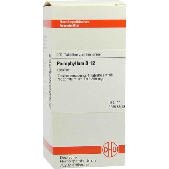 Podophyllum D 12 Tabletten - 1