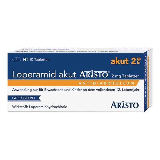 Loperamid akut Aristo 2 mg Tabletten - 1