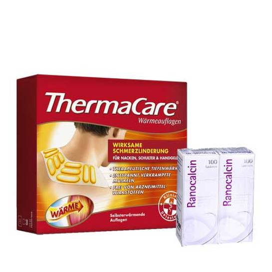 Thermacare Nackenauflage 9 St + Ranocalcin 200 Tbl - 1